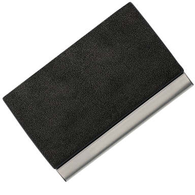 Business Card Case with Velvet Inner Lining