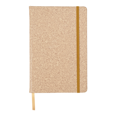 A4 PU Notebook with Cork Print