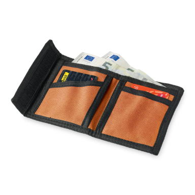 Wallet with Velcro Closure