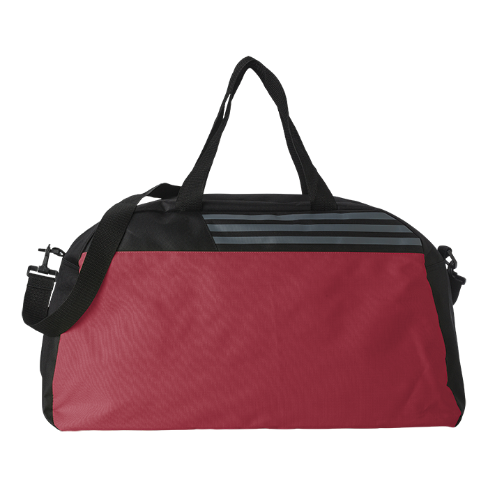Sports Bag with Grey Stripes