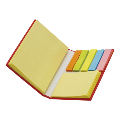 Card Case with Sticky Notes