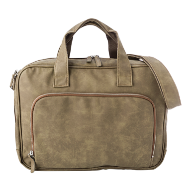Exclusive Washed PU Laptop Bag