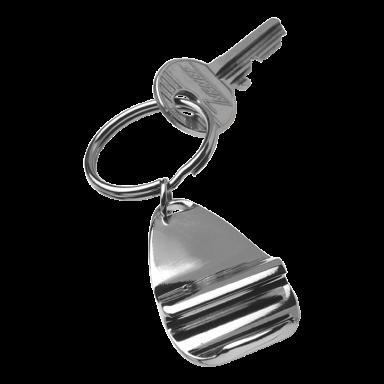 Stylish Metal Bottle Opener Keychain