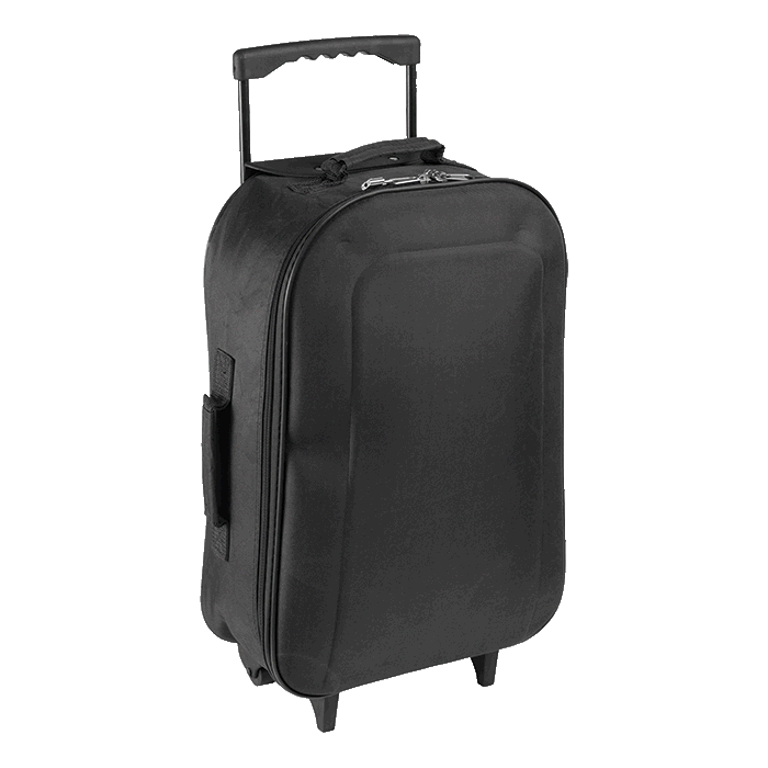 Foldable 600D Cabin Bag with Extendable Handle