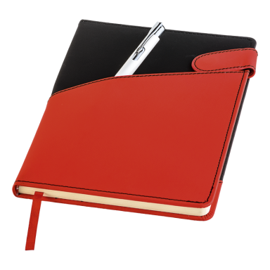 Diagonal Design A5 Notebook