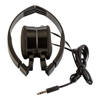 Foldable Headphones in Fabric Bag