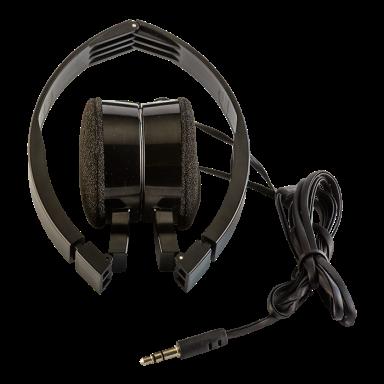 Foldable Headphones in Fabric Bag