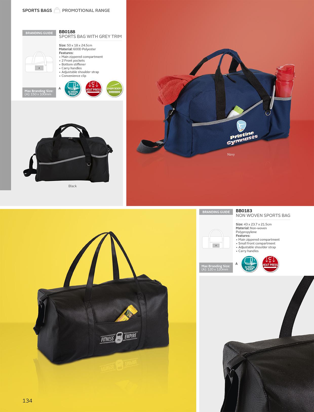 79cb6cc017f8 Non Woven Sports Bag