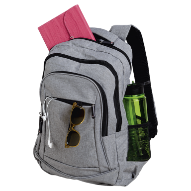 Stylish Front Zip Pocket Backpack