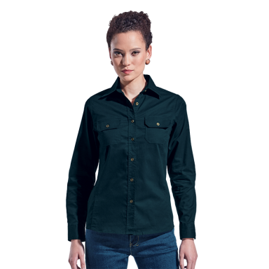 Ladies Bush Shirt Long Sleeve