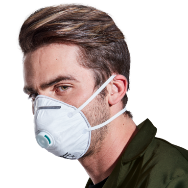 Dust Masks - SABS Approved - FFP2 with valve