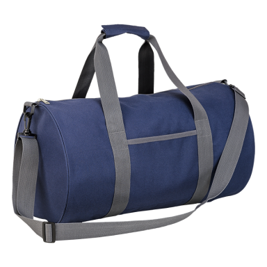 Barrel Shaped Sports Bag