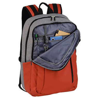 Premium Dual Fabric Backpack