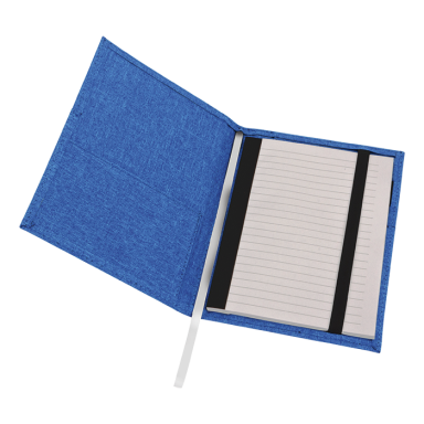 A5 Melange Notebook With Front Pocket