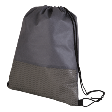 Wave Design Drawstring Bag - Non-Woven