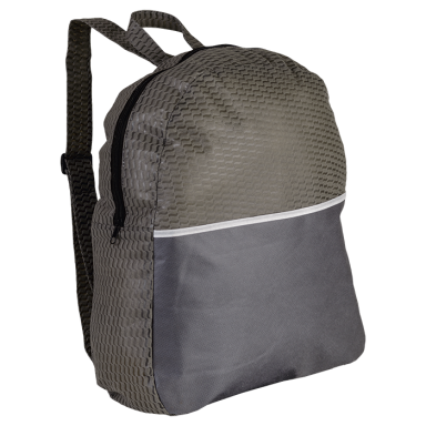 Wave Design Backpack - Non-Woven