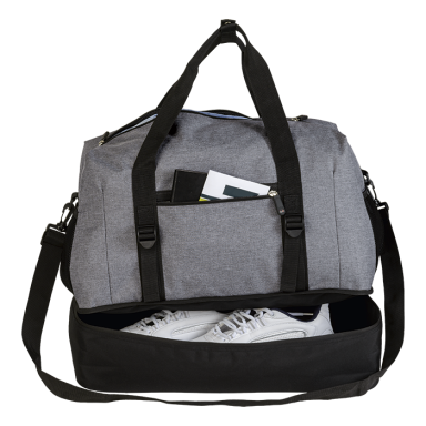 Melange Double Decker Duffel Bag