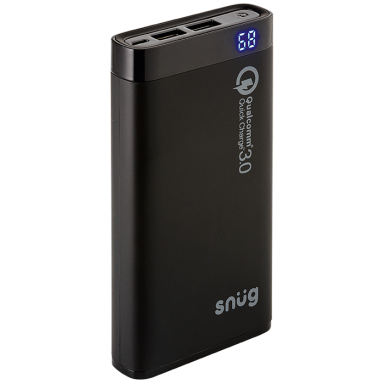 Snug Quick Charge 3.0 Power Bank – 12000 mAh
