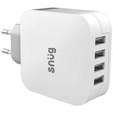 Snug 4 Port USB Home Charger