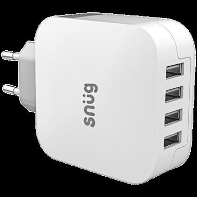 Snug 4 Port USB Home Charger