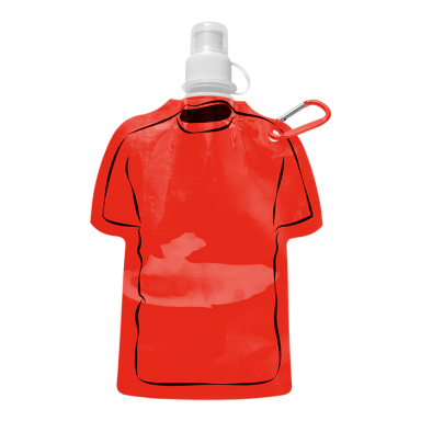 450ml Shirt Shaped Foldable Water Bottle