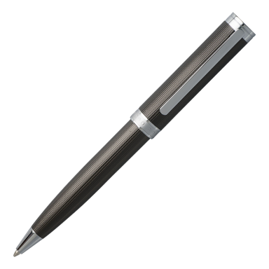 Hugo Boss Ballpoint Pen Column Chrome