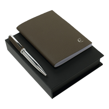 Cerruti Luxury Notebook and Pen Set