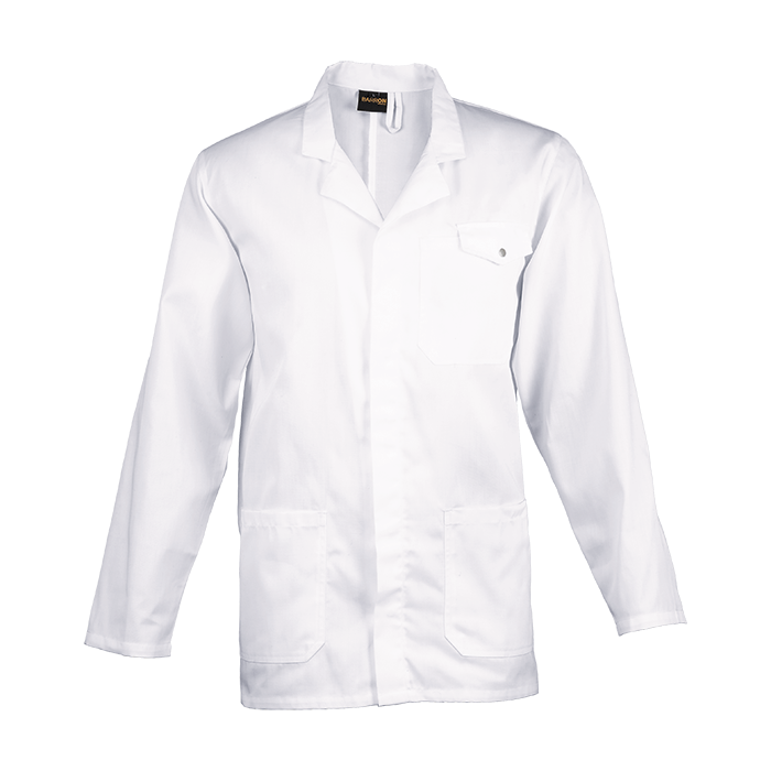 All-Purpose Long Sleeve Lab Coat (LAB-ALL) - White