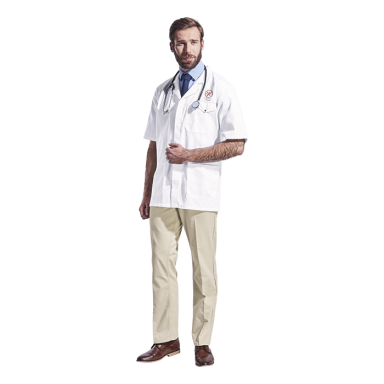 All-Purpose Short Sleeve Lab Coat