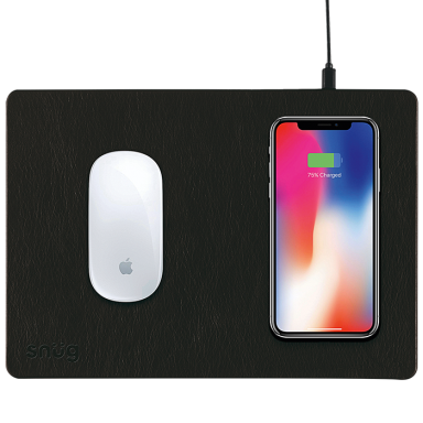 Snug Mousepad With Wireless Charger