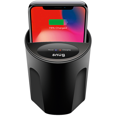 Snug In-Car Fast Wireless Charger