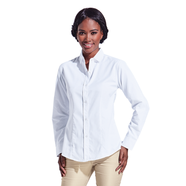 Ladies Clayton Blouse Shirt Long Sleeve