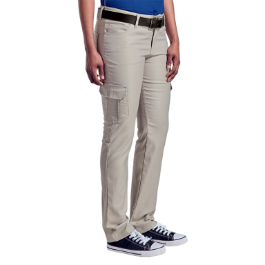 Ladies Stretch Cargo Pants