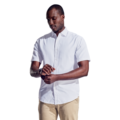 Mens Clayton Lounge Shirt Short Sleeve