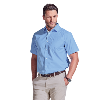Mens Chicago Lounge Shirt Short Sleeve