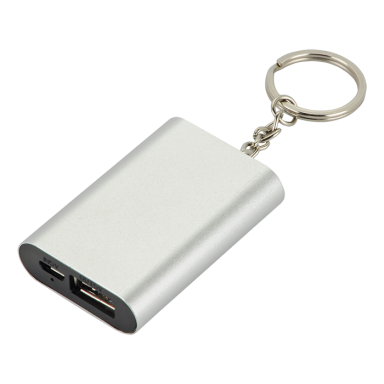 Compact Power Bank With Keychain - 1000 mAh