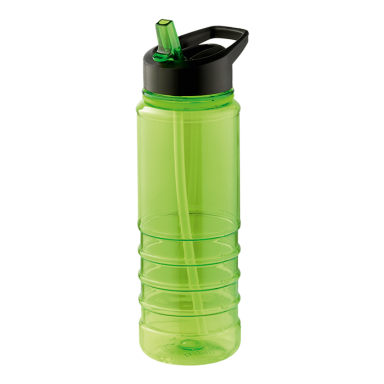 750ml Solid Coloured Tritan Bottle With Straw