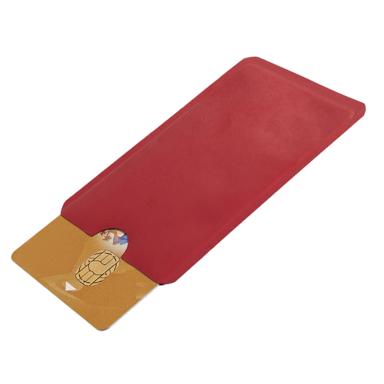 RFID Aluminium Foil Card Holder