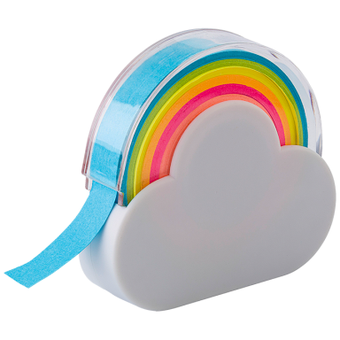 Rainbow Memo Tape Dispenser