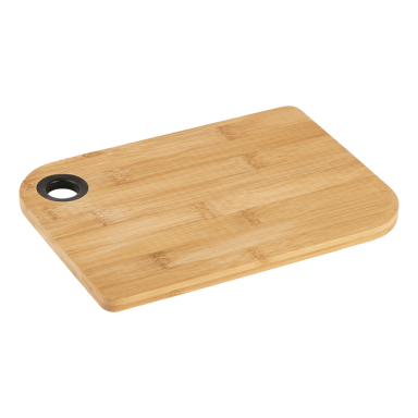Bamboo Cutting Board With Thumb Hole