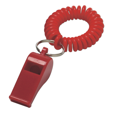 Whistle With Wrist Strap