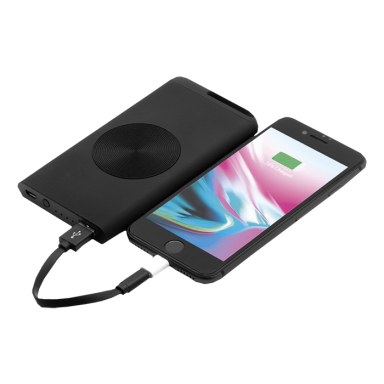 Chili Theta Wireless Power Bank With Matte Finish 4000 mAh