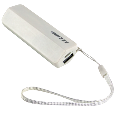 Whizzy Power Bank With Wrist Strap 2600 mAh