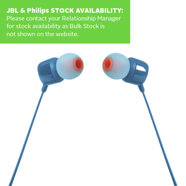 JBL In Ear Headphone And Mic T110