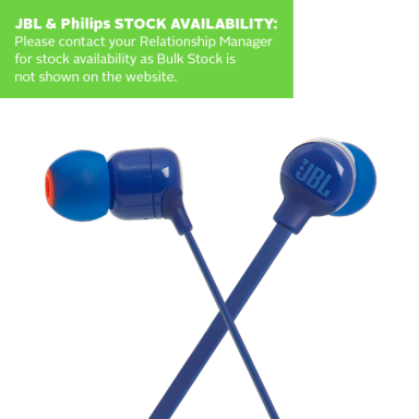 JBL In Ear Bluetooth Headphone T110BT