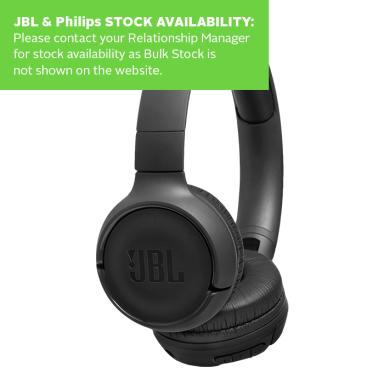 JBL Tune Bluetooth On Ear Headphone T500BT