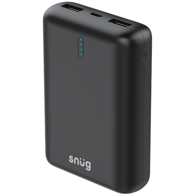 Snug Power Bank With LED Indicator 10000 mAh