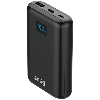 Snug Power Bank With Digital Battery Indicator 10000 mAh