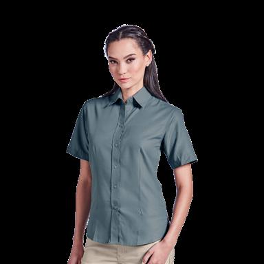 Ladies Easy Care Blouse Short Sleeve