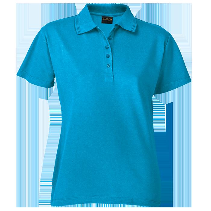 200g Ladies Pique Knit Golfer (L-200)